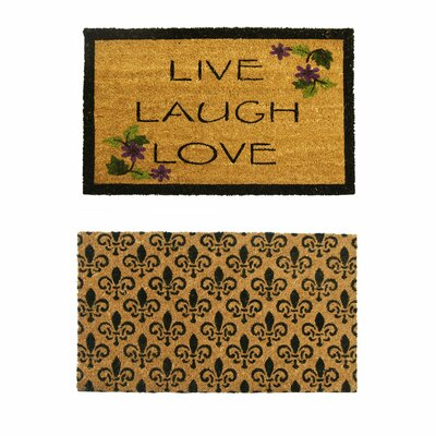 2 Piece Entry Doormat Set