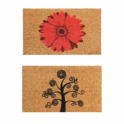 2 Piece Home Doormat Set