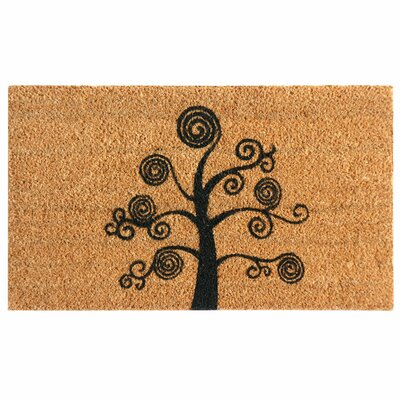 Altman Deciduous Tree Modern Doormat Mat Size: Rectangle 2 x 49
