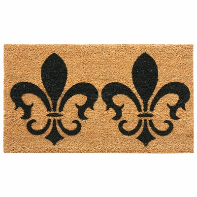 The Clovis Legend French Provincial Doormat Mat Size: Rectangle 16 x 26