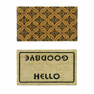 Coir Walkoff Doormat Set