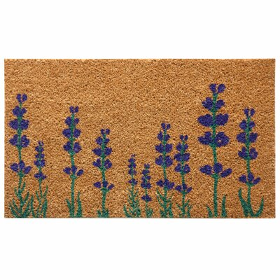 Burlington Lavender Flower Doormat