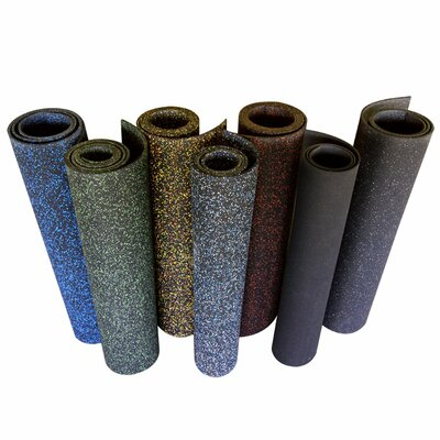 Elephant Bark 96 Recycled Rubber Flooring Roll