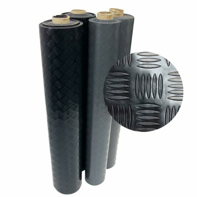 Diamond-Grip 72 Resilient Flooring Mat Roll