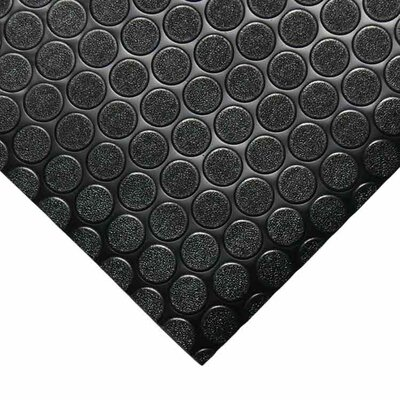 Coin-Grip Anti-Slip Rolled Rubber Mat