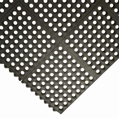 Dura-Chef Commercial Interlock Anti-Fatigue Rubber Mat