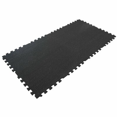 Z-Cycle Tiles Interlocking Protective Flooring Rubber Mat