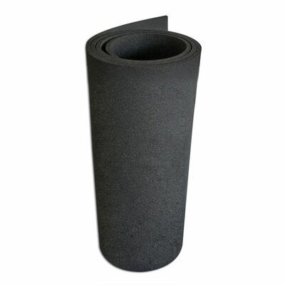 Elliptical Mat Heavy-Duty Rubber Mat