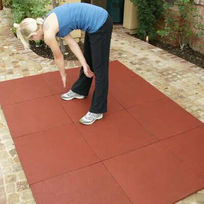 Eco-Sport Interlocking Flooring Rubber Tile