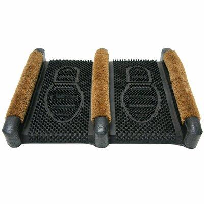 Traditional Rubber Coir Boot Scrusher Outdoor Boot Scraper