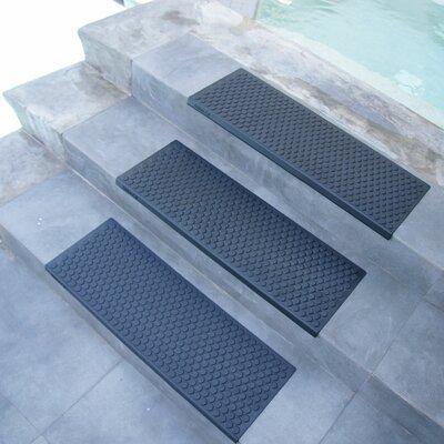 Coin-Grip 29.75 Step Non-Slip Rubber Stair Tread Mat