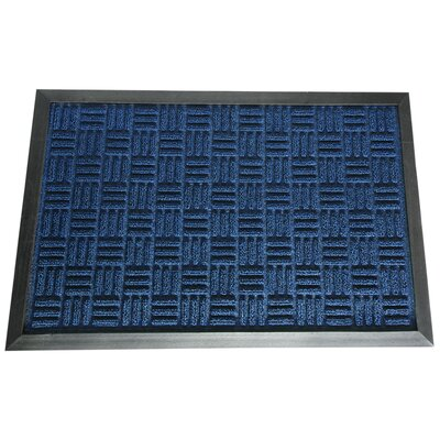 Wellington Entrance Doormat Color: Blue