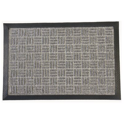 Wellington Entrance Doormat Color: Gray