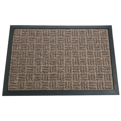 Wellington Entrance Doormat Color: Brown