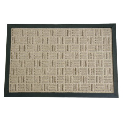 Wellington Entrance Doormat Color: Tan