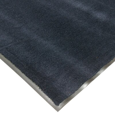 Tuff-Plush Floor Doormat Color: Navy, Rug Size: 3 x 5