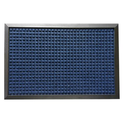Nottingham Entrance Doormat Color: Blue