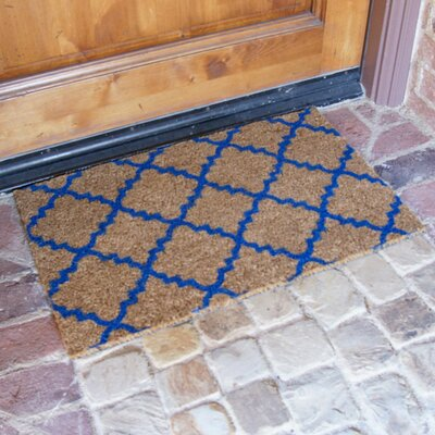 Casablanca Doormat Color: Blue