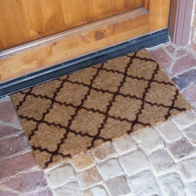Casablanca Doormat Color: Brown
