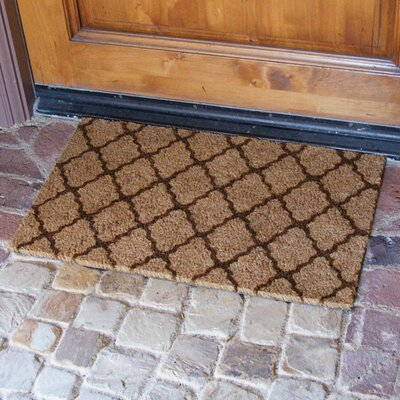 The Moroccan Doormat Color: Brown
