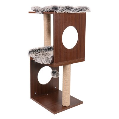 34 Two Level Cat Tree