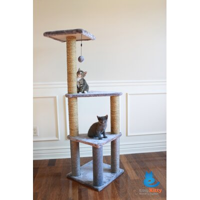 46 Brooke 3 Story Lookout Cat Tree