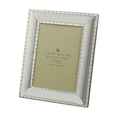 Crystal Picture Frame Size: 5 x 7