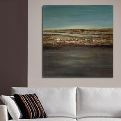 'Modern Abstract' Painting Print on Canvas KM120279B-6060