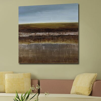 'Modern Abstract' Painting Print on Canvas KM120279A-6060