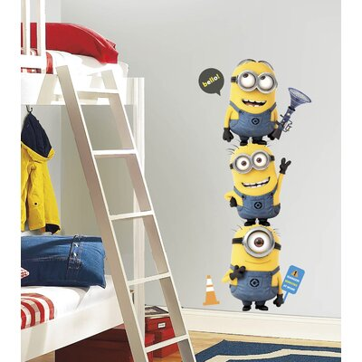 Despicable Me 2 Movie Minions Giant Wall Decal 2081GMWH