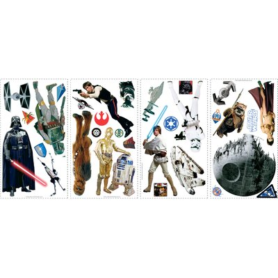 Star Wars Cutout Wall Decal 1586SCSWH