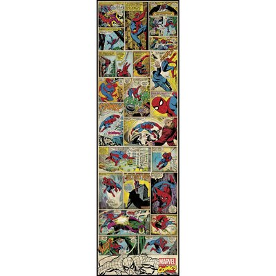 Marvel Comics Spiderman Classic Collage Wall Mural 2358SLGWH