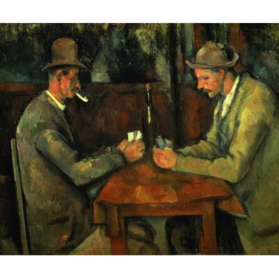 Cezanne The Card Players (19th) Wall Mural Size: 30
