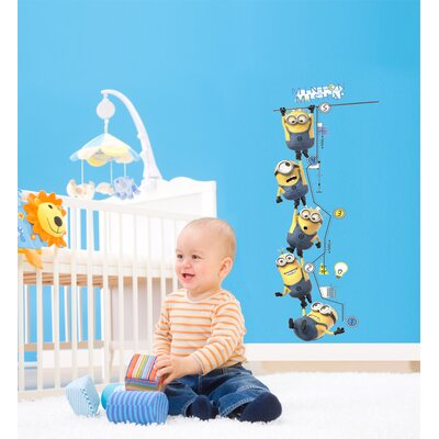Despicable Me 2 Movie Growth Chart Wall Decal 2107GCWH