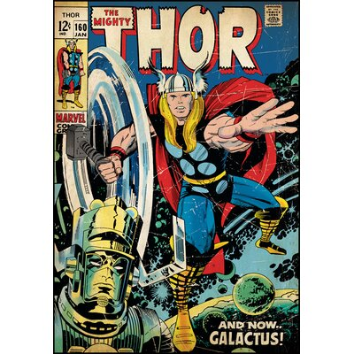 Marvel Comics Thor Comic Cover Wall Mural 1648SLGWH