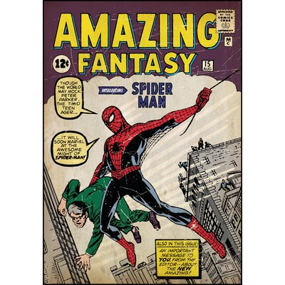 Marvel Comics Spiderman Comic Cover Wall Mural 1658SLGWH
