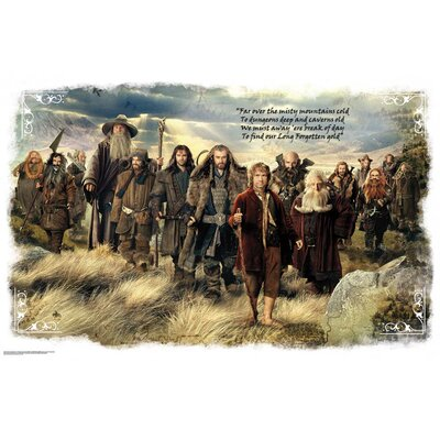 The Hobbit Movie Giant Mural Wall Mural 2158SLMWH