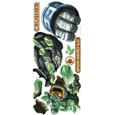Skylanders Giants Crusher and Prism Break Wall Decal 2287GMWH