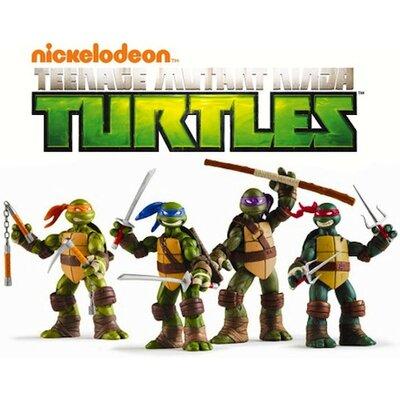 Teenage Mutant Ninja Turtles Mega-Pak Room Makeover Wall Decal 2249MPWH