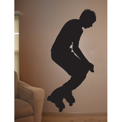 Roller Blade Silhouette II Cutout Wall Decal spt61-t24