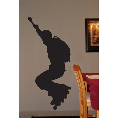 Roller Blade Silhouette III Cutout Wall Decal spt63-t36