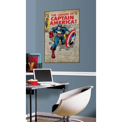 Marvel Comics Captain America Comic Cover Wall Mural 1646SLGWH