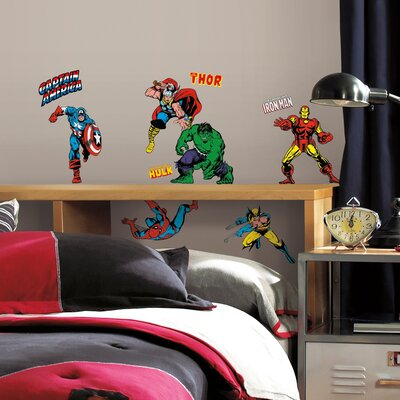 Marvel Comics Classics Wall Decal 2328SCSWH