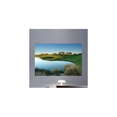 "Arizona Golf Course Glossy Wall Mural Size: 24"" H x 36"" W x 0.1"" D plc13-p36"