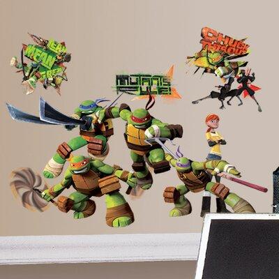 Teenage Mutant Ninja Turtles Wall Decal 2246SCSWH