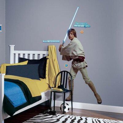Star Wars Luke Skywalker Cutout Wall Decal 1587GMWH