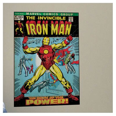 Marvel Comics Iron Man Comic Cover Wall Mural 1662SLGWH
