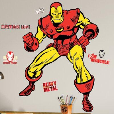 Marvel Comics Iron Man Classic Wall Decal 2356GMWH