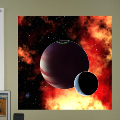 "Fiery Birth Wall Mural Size: 24"" H x 24"" W space4-t24"