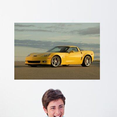 """Corvette Z06 Wall Mural Size: 16"""" H x 24"""" W vcl23-t24"""